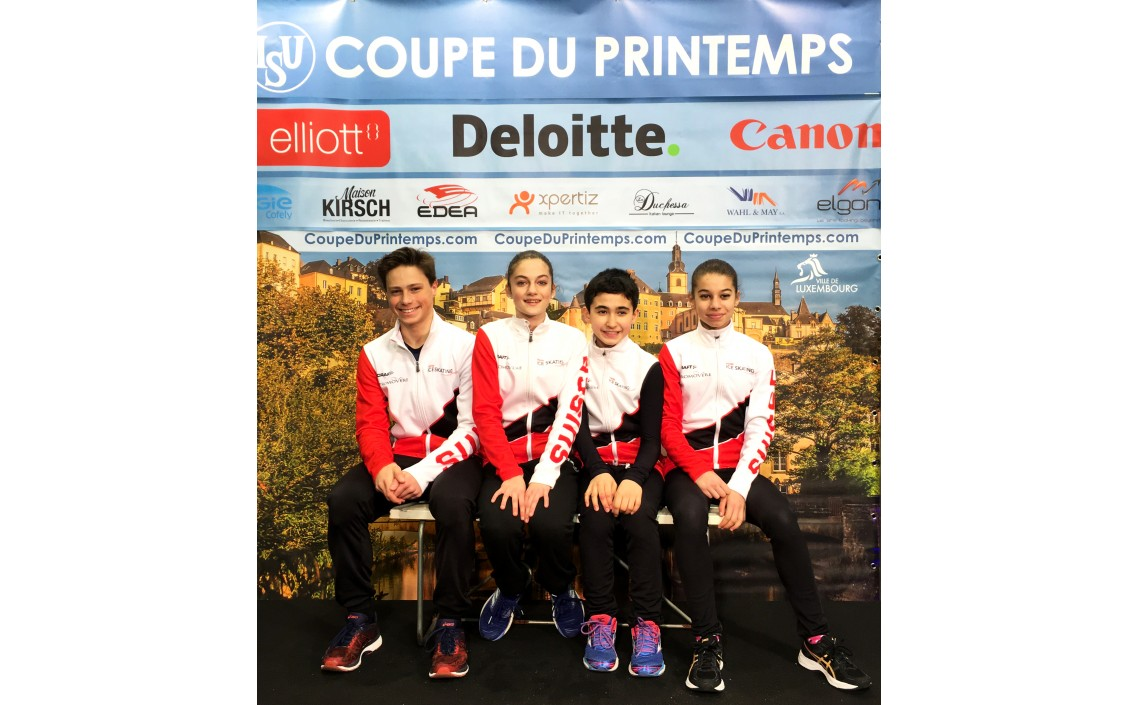 Patineurs du CPG participent aux compétitions internationationales